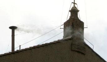 Schornstein Sixtinische Kapelle