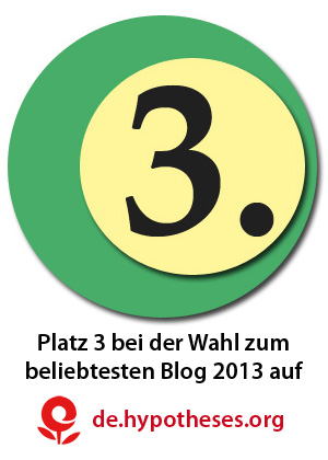 Blogaward Platz3