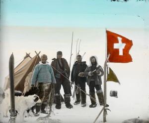 Inlandeis 2510 m, Zeltplatz 21 auf höchstem Punkt, Hoessly [Höss
