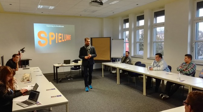 Update (Podcast u. Folien): Christoph Deeg, Archive und Gaming (Workshop): Offene Archive 2.2 – Rückblick (1)