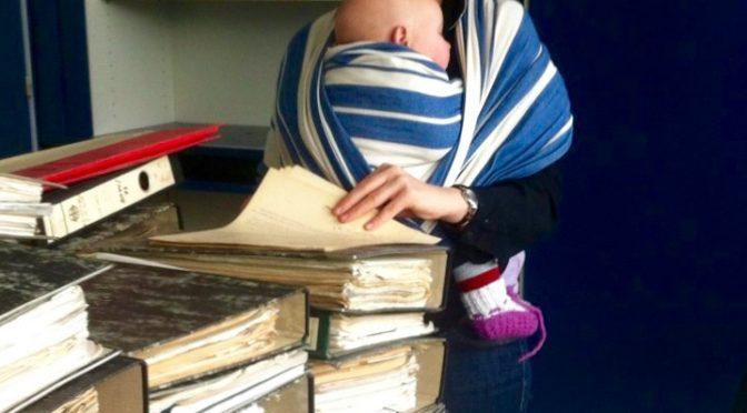 Mit dem Baby ins Archiv – Ein Erfahrungsbericht