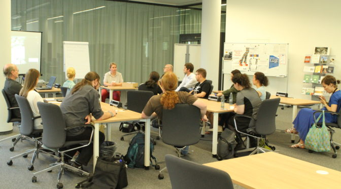 Offene Archive 2.3 – #archivcamp: 1. und 2. Sessionphase